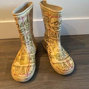 Coach Rubber Boots